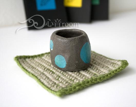 毛糸を編むセラピー 1 プチ敷物