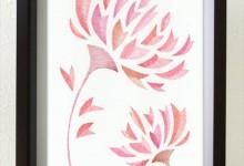 色を塗るセラピー 2 曼珠沙華